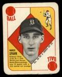 1951 Topps Red Back #30  Warren Spahn  Front Thumbnail