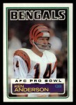 1983 Topps #232  Ken Anderson  Front Thumbnail