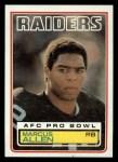 1983 Topps #294  Marcus Allen  Front Thumbnail