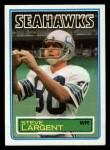 1983 Topps #389  Steve Largent  Front Thumbnail