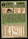 1967 Topps #43  Chico Salmon  Back Thumbnail