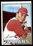 1967 Topps #360  Leon Wagner  Front Thumbnail