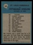 1964 Philadelphia #182   -  Wally Lemm  Cardinals Play of the Year Back Thumbnail