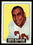 1964 Topps #103  Curtis McClinton  Front Thumbnail