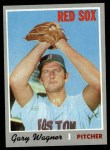 1970 Topps #627  Gary Wagner  Front Thumbnail