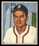 1950 Bowman #111  Walker Cooper  Front Thumbnail