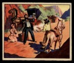 1949 Bowman Wild West #4 G  Lone Traveler, Beware! Front Thumbnail