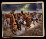1949 Bowman Wild West #9 E  Stampede Front Thumbnail