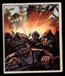 1950 Bowman Wild Man #23   Jungle Bombing Front Thumbnail