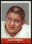 1968 Topps Stand-Ups #11  Alex Karras  Front Thumbnail