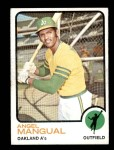 1973 Topps #625  Angel Mangual  Front Thumbnail