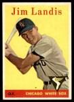 1958 Topps #108 YT Jim Landis  Front Thumbnail