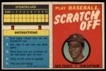 1971 Topps Scratch-Offs  Nate Colbert  Front Thumbnail