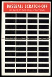 1970 Topps Scratch-Offs  Luis Aparicio  Back Thumbnail