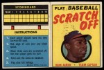 1970 Topps Scratch-Offs  Hank Aaron  Front Thumbnail