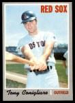 1970 Topps #340  Tony Conigliaro  Front Thumbnail