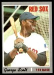 1970 Topps #385  George Scott  Front Thumbnail