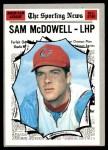 1970 Topps #469   -  Sam McDowell All-Star Front Thumbnail
