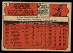 1972 O-Pee-Chee #35  Jerry Johnson  Back Thumbnail