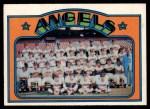 1972 O-Pee-Chee #71   Angels Team Front Thumbnail