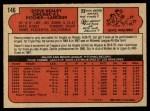 1972 O-Pee-Chee #146  Steve Kealey  Back Thumbnail