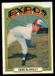 1972 O-Pee-Chee #58  Ernie McAnally  Front Thumbnail