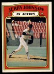 1972 O-Pee-Chee #36   -  Jerry Johnson In Action Front Thumbnail