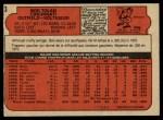 1972 O-Pee-Chee #3  Bobby Tolan  Back Thumbnail