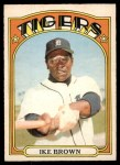 1972 O-Pee-Chee #284  Ike Brown  Front Thumbnail