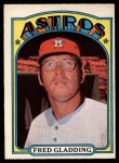1972 O-Pee-Chee #507  Fred Gladding  Front Thumbnail