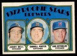 1972 O-Pee-Chee #162   -  Darrell Porter / Bob Reynolds /Jerry Bell Brewers Rookies   Front Thumbnail