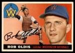 1955 Topps #169  Bob Oldis  Front Thumbnail