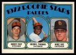 1972 O-Pee-Chee #457   -  Darcy Fast / Mike Ivie / Derrel Thomas Padres Rookies   Front Thumbnail