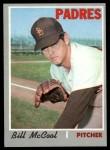 1970 Topps #314  Bill McCool  Front Thumbnail