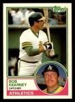 1983 Topps Traded #52 T Bob Kearney  Front Thumbnail