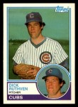 1983 Topps Traded #98 T Dick Ruthven  Front Thumbnail