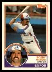 1983 Topps Traded #93 T Bobby Ramos  Front Thumbnail