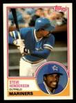 1983 Topps Traded #42 T Steve Henderson  Front Thumbnail