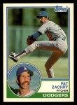 1983 Topps Traded #131 T Pat Zachry  Front Thumbnail