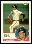 1983 Topps Traded #6 T Steve Baker  Front Thumbnail