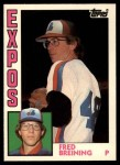 1984 Topps Traded #16  Fred Breining  Front Thumbnail