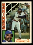 1984 Topps Traded #79  Larry Milbourne  Front Thumbnail