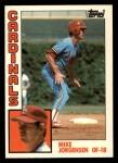 1984 Topps Traded #60  Mike Jorgensen  Front Thumbnail