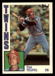 1984 Topps Traded #117  Tim Teufel  Front Thumbnail