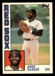 1984 Topps Traded #33  Mike Easler  Front Thumbnail