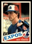 1985 Topps Traded #94 T Bert Roberge  Front Thumbnail