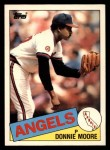 1985 Topps Traded #85 T Donnie Moore  Front Thumbnail