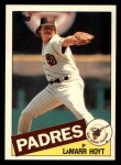 1985 Topps Traded #59 T LaMarr Hoyt  Front Thumbnail