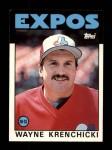 1986 Topps Traded #55 T Wayne Krenchicki  Front Thumbnail