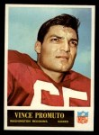 1965 Philadelphia #194  Vince Promuto   Front Thumbnail